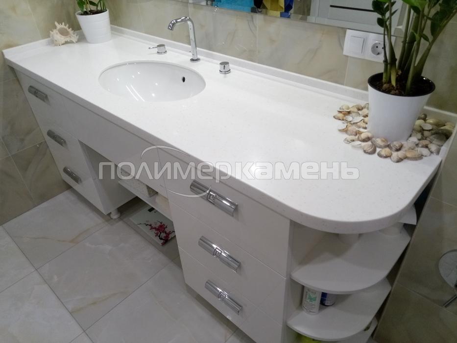 Столешница для ванной 150 смотреть столешница из кварцита цена